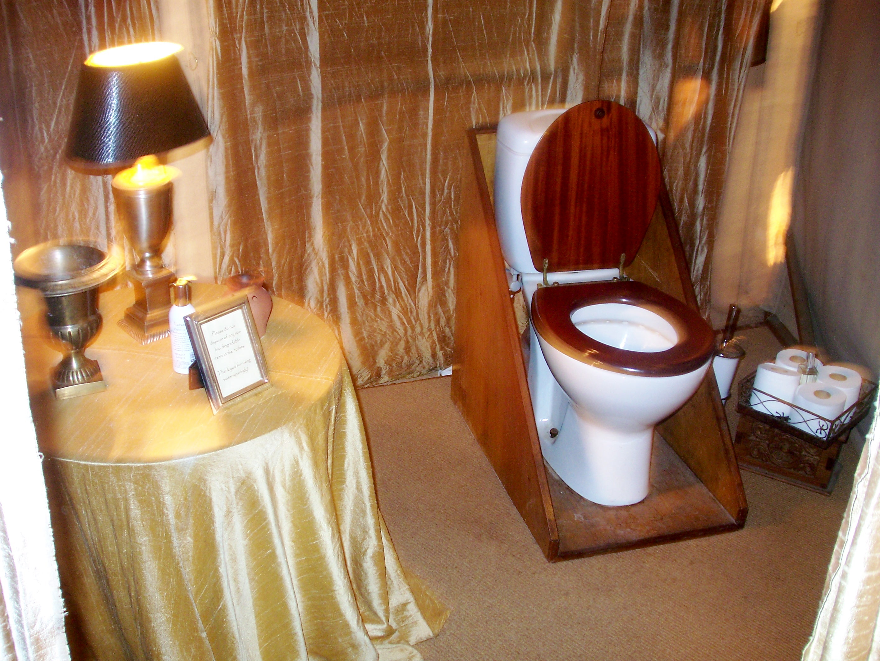best camping toilet ever