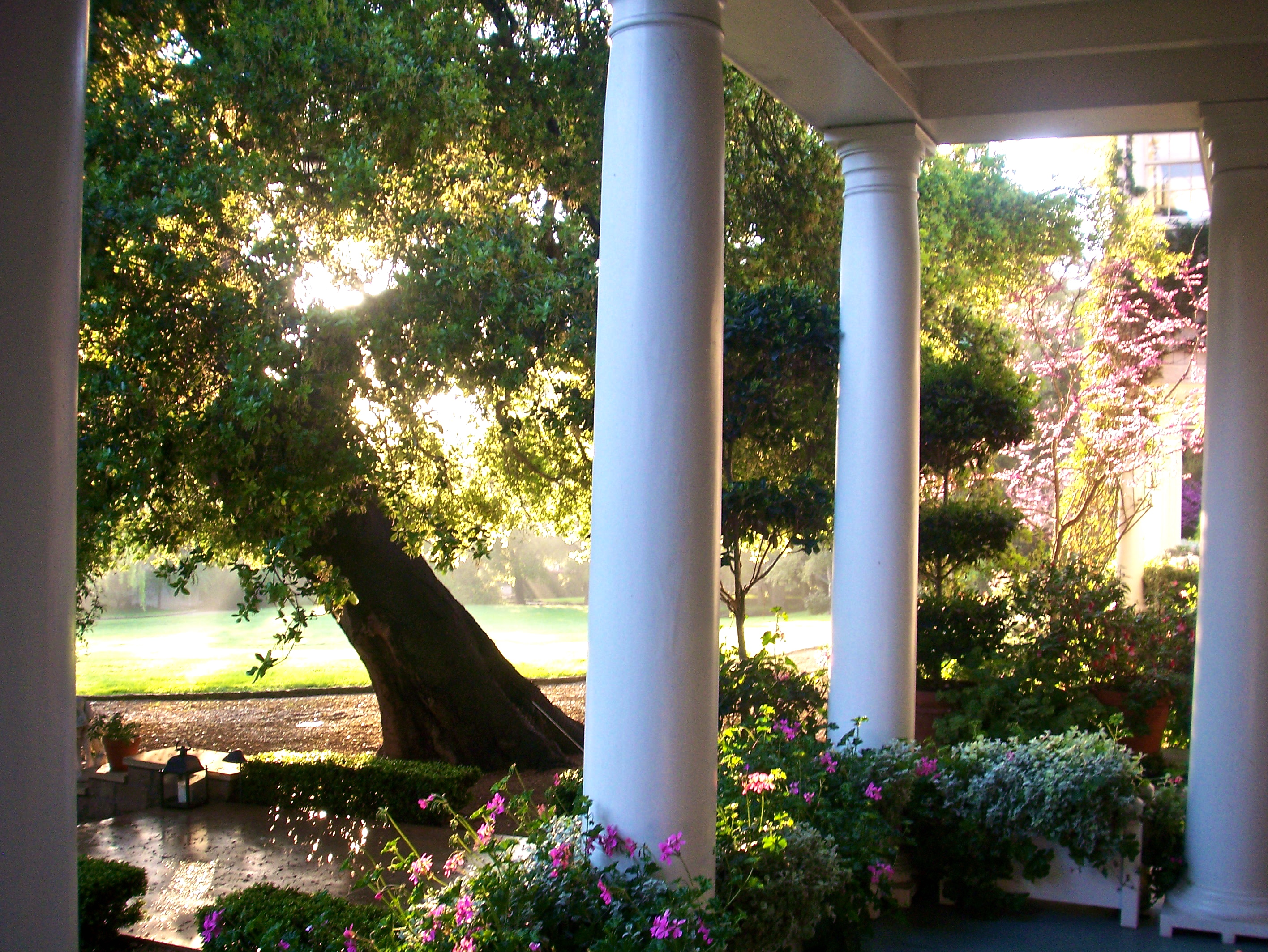 front porch columns, slimpaley.com