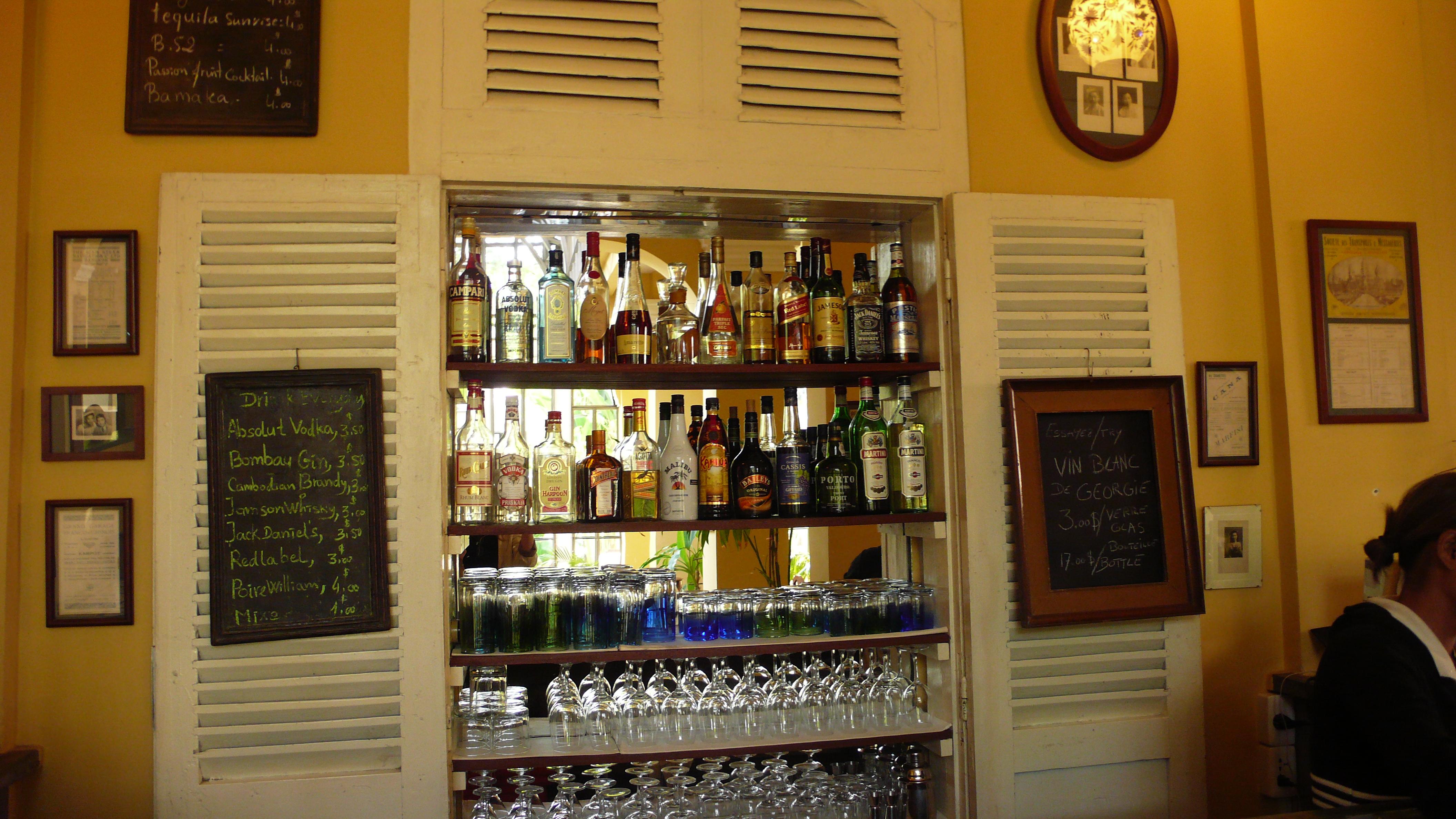 Cambodian bar