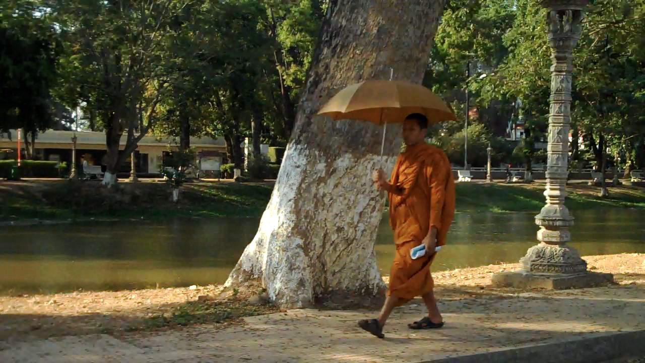 Monk in Siem Reap