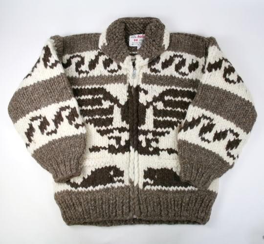 Cowichan sweater