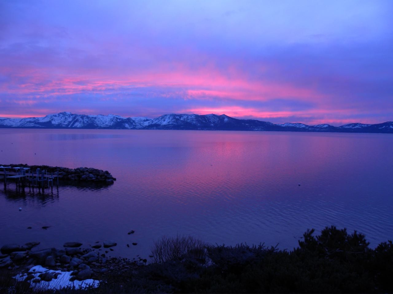 Sunset, Lake Tahoe, NO FILTER , LK's Grab Bag