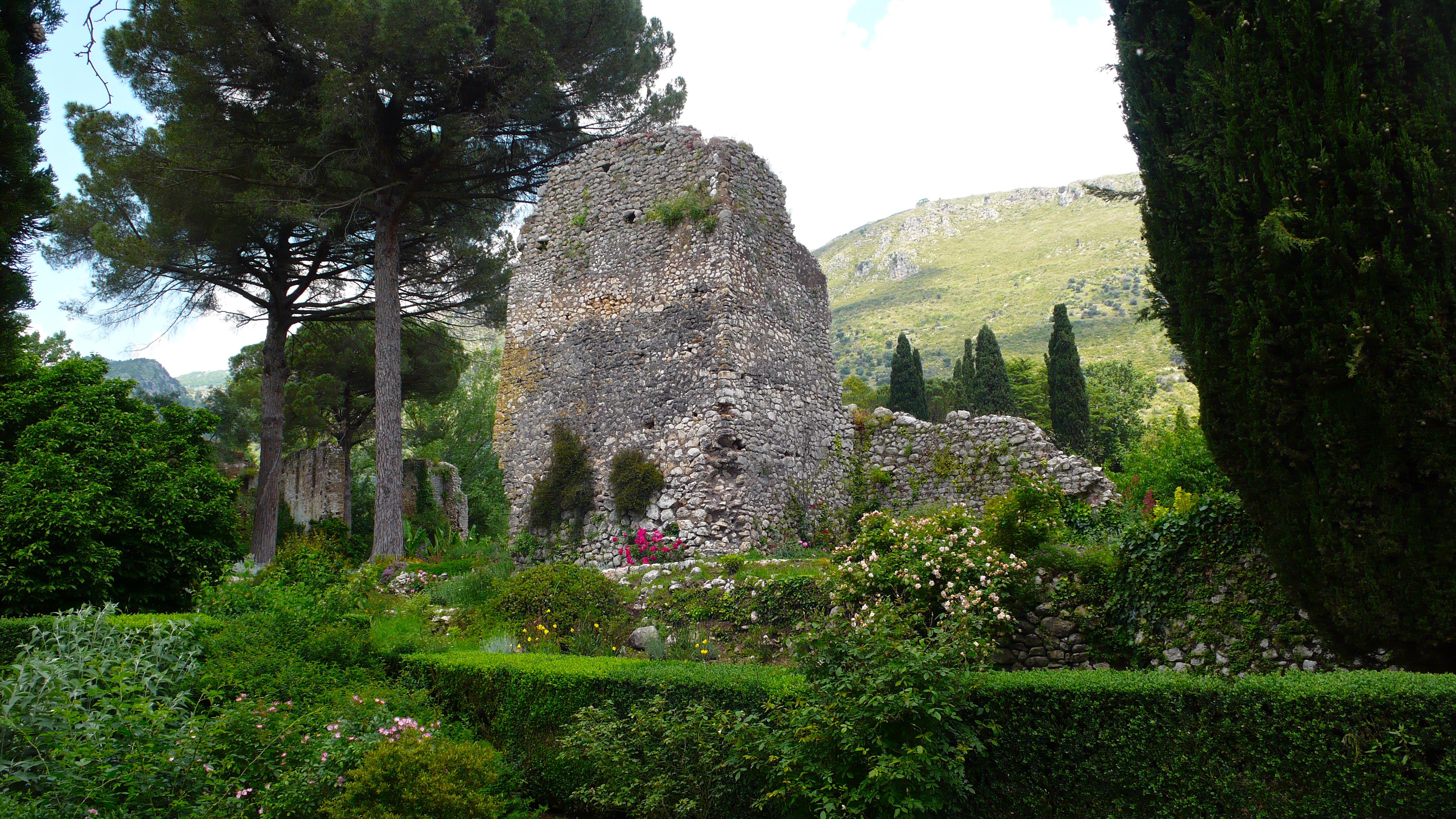 Ruins, Ninfa Gardens, Italy