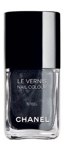 "Chanel ""Steel"" nail polish"