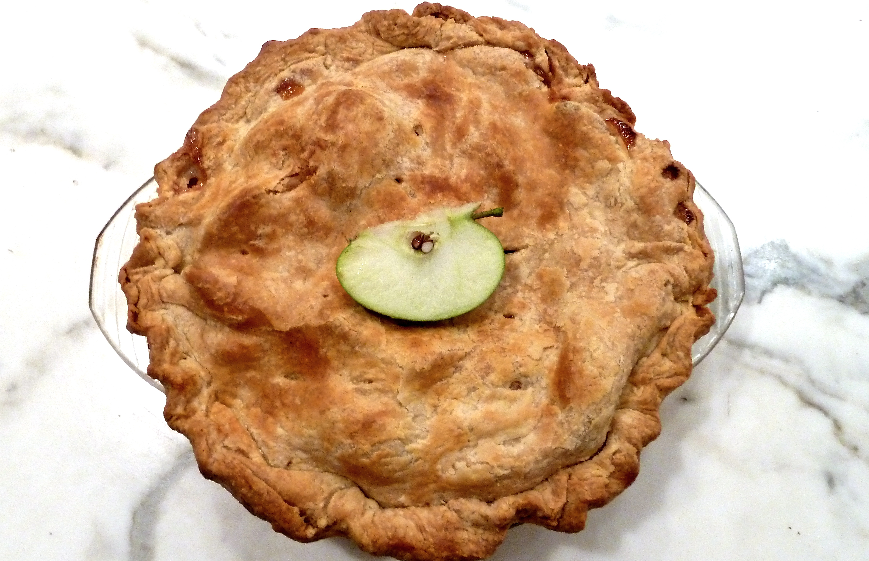 homemade apple pie, Slim Paley