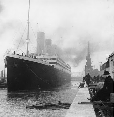 The Titanic footage