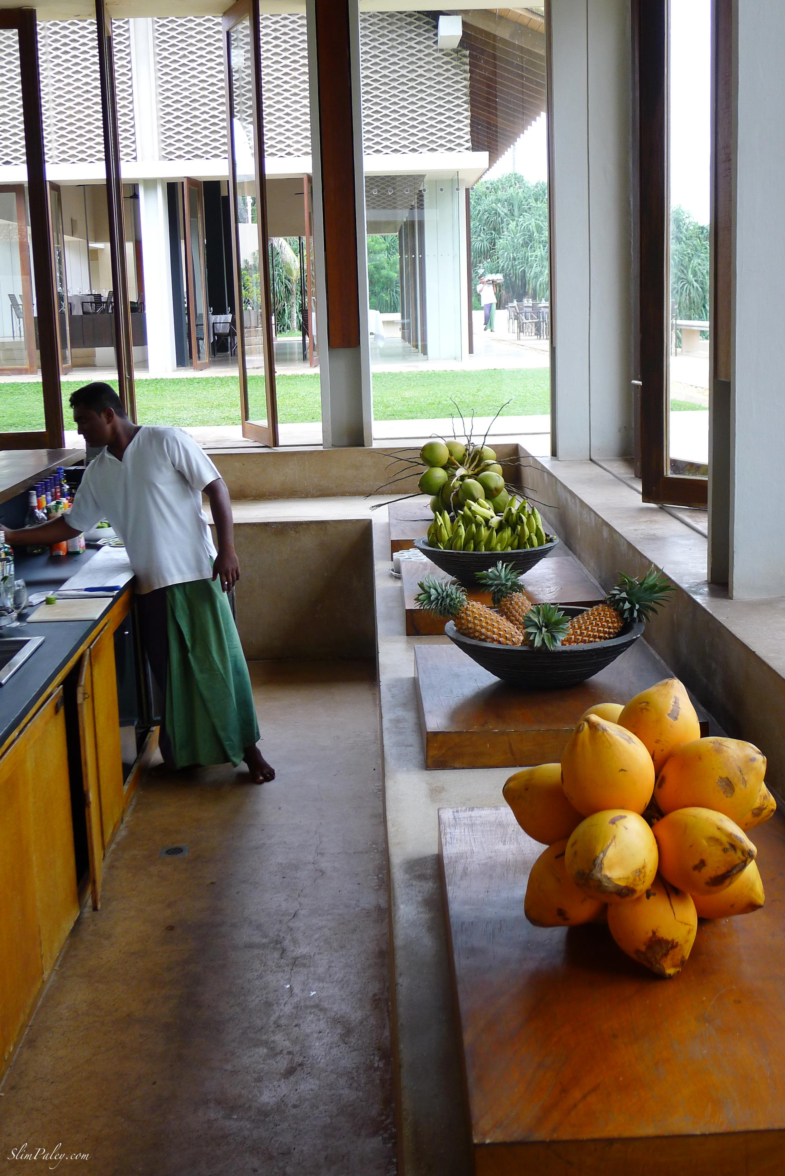 bar, Amanwella hotel, Sri Lanka