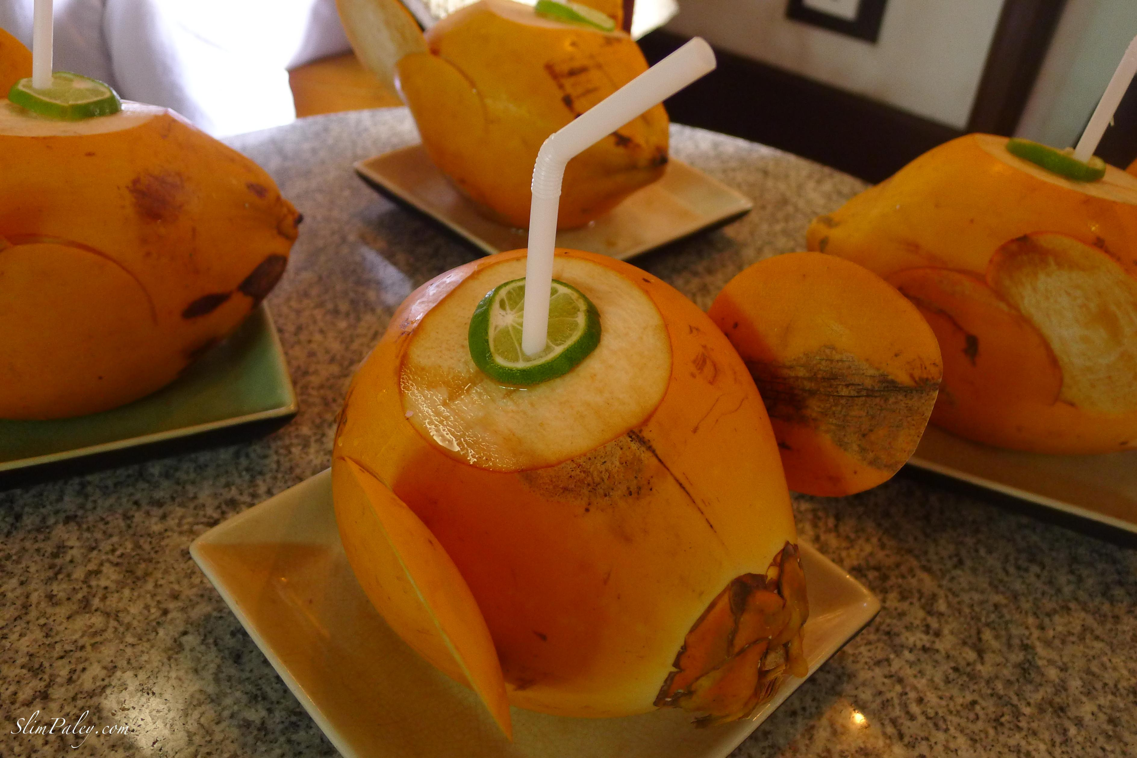 fresh king coconut water