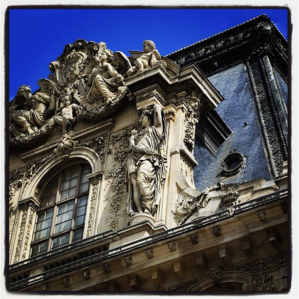 The Louvre exterior