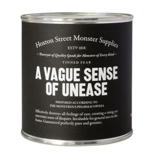 A Vague Sense of Unease