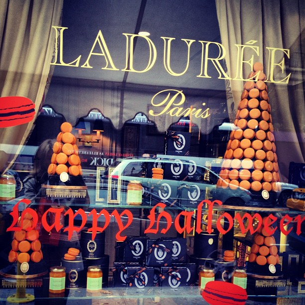 Laduree NY, Halloween