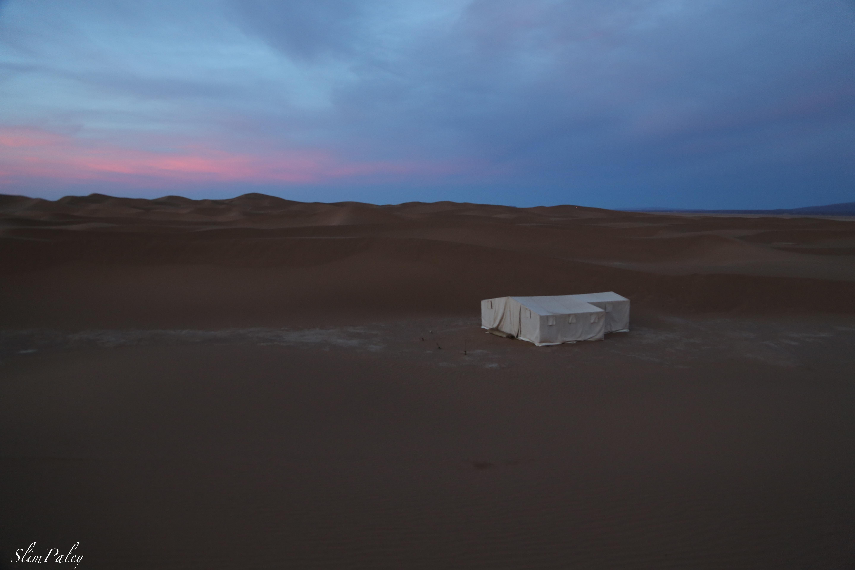 Moroccan desert sunrise