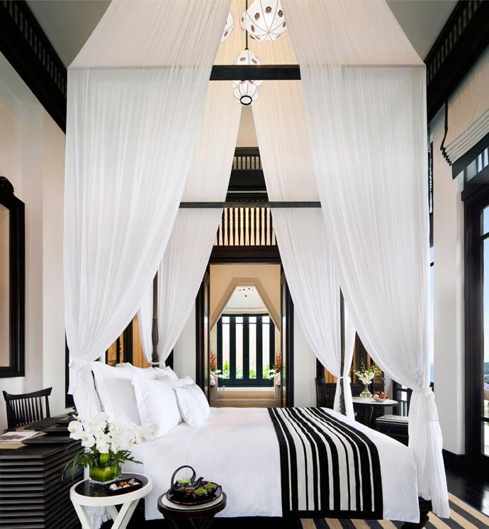 best black & white bedroom