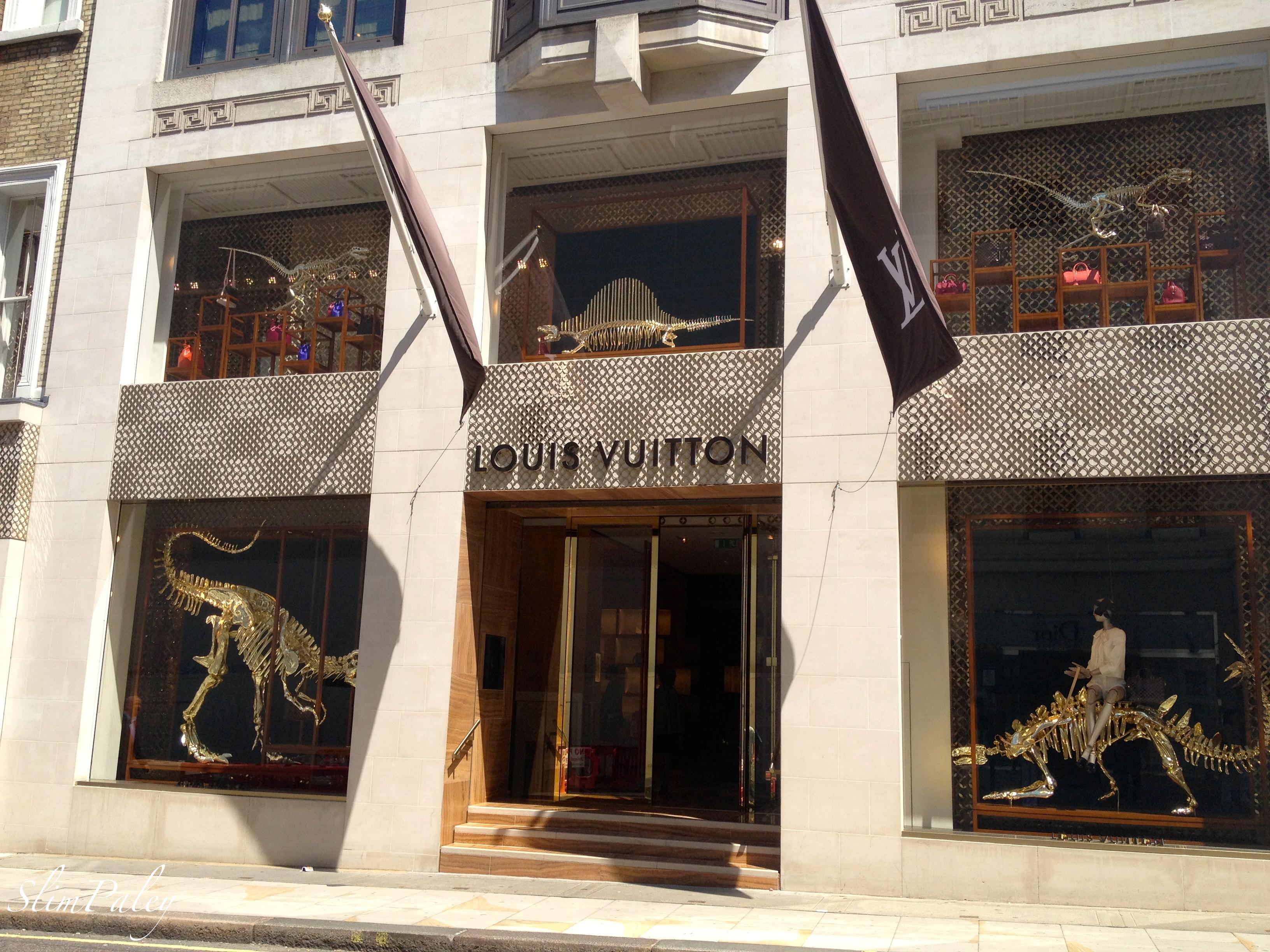 Louis Vuitton windows London