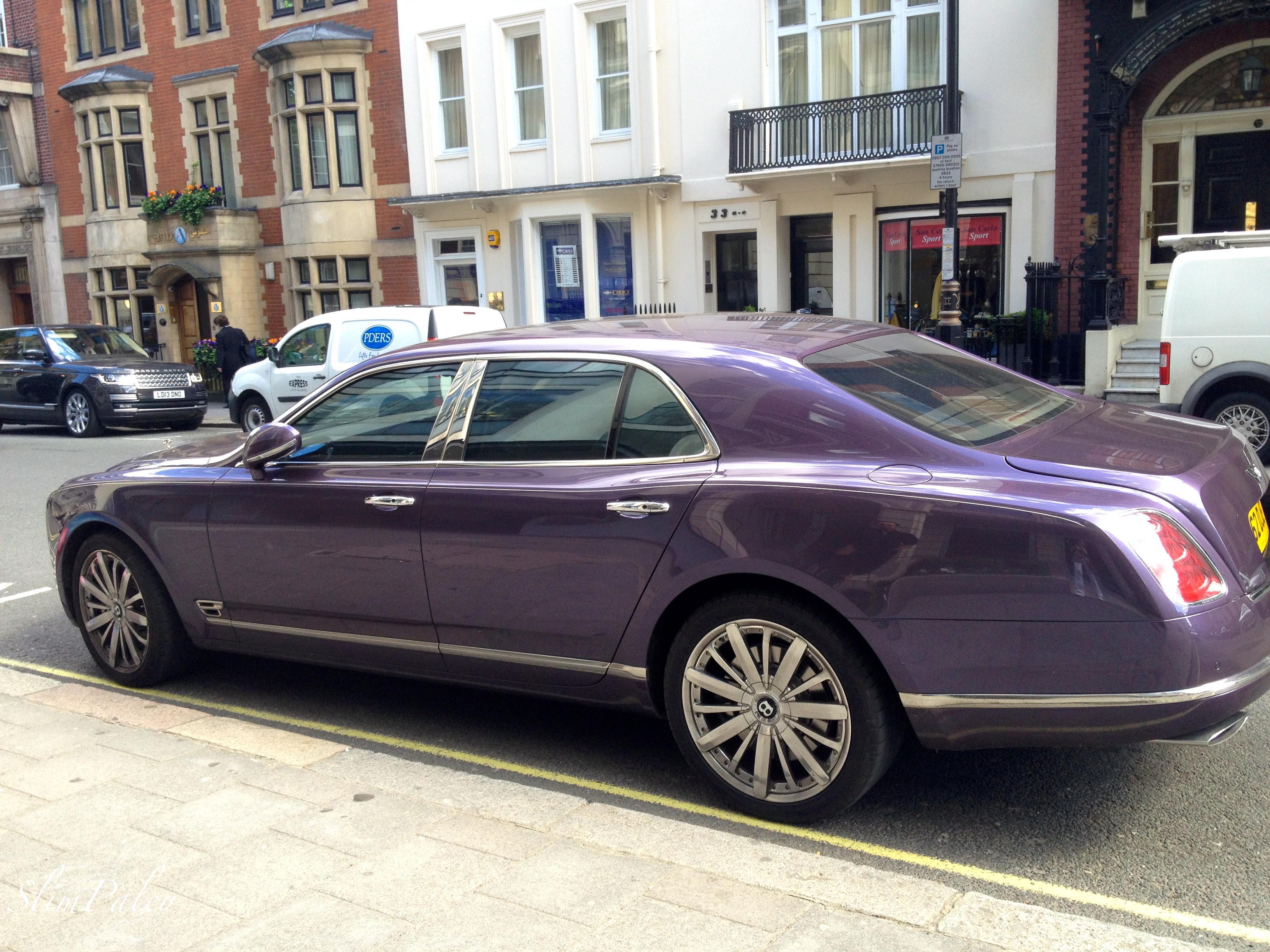 Purple Bentley