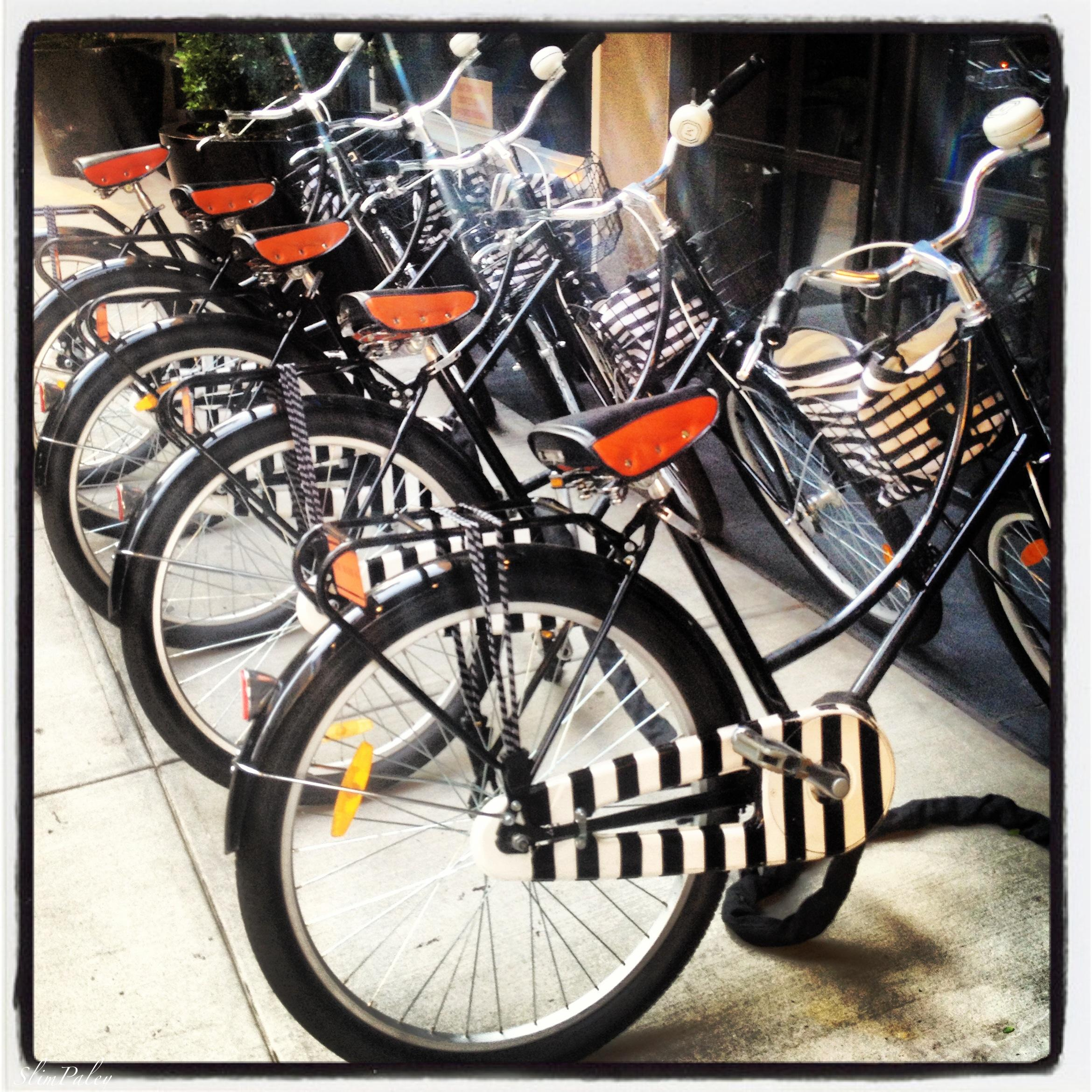 Mark Hotel bikes, NY, Slim Paley Instagram