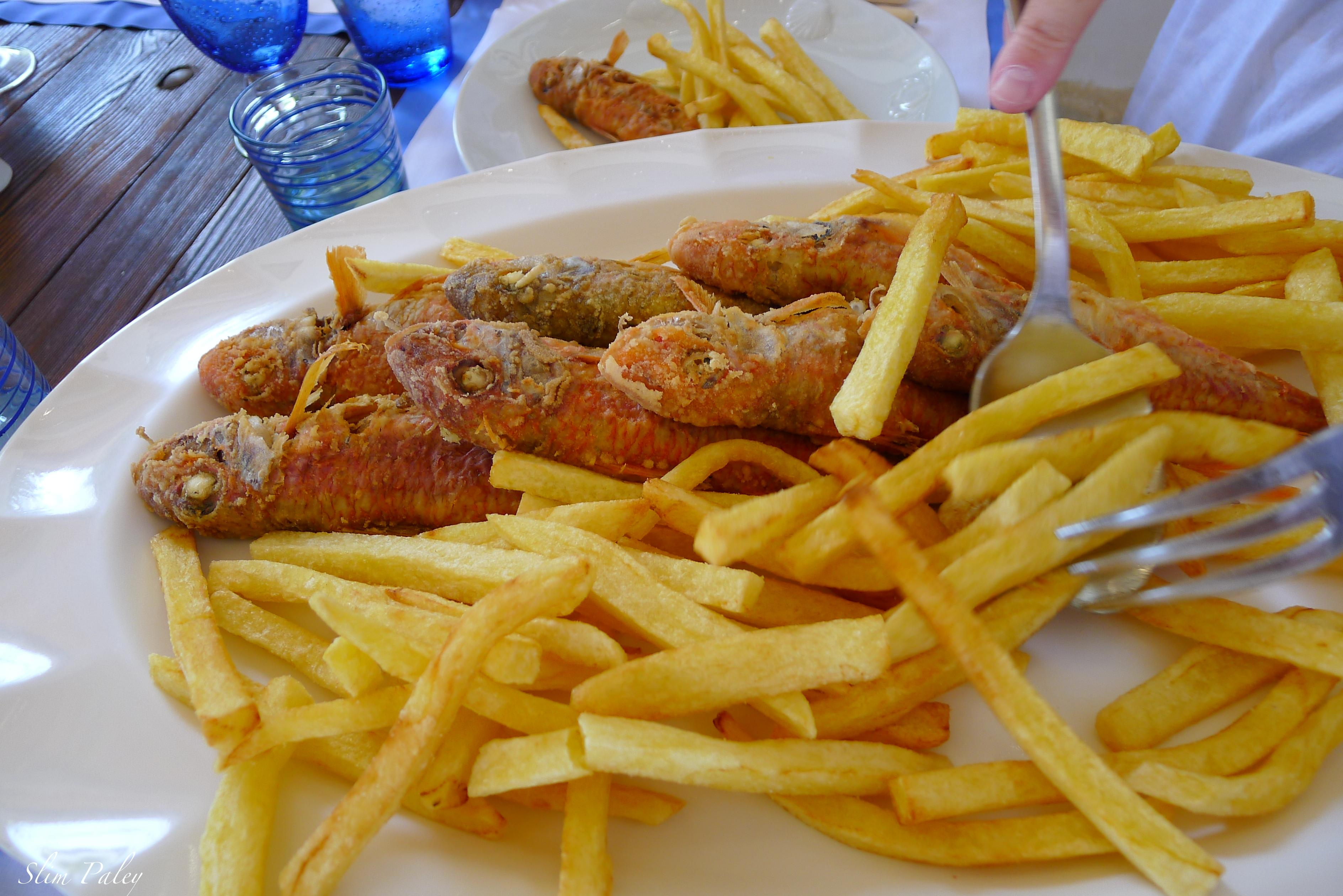 fried fish & french fries