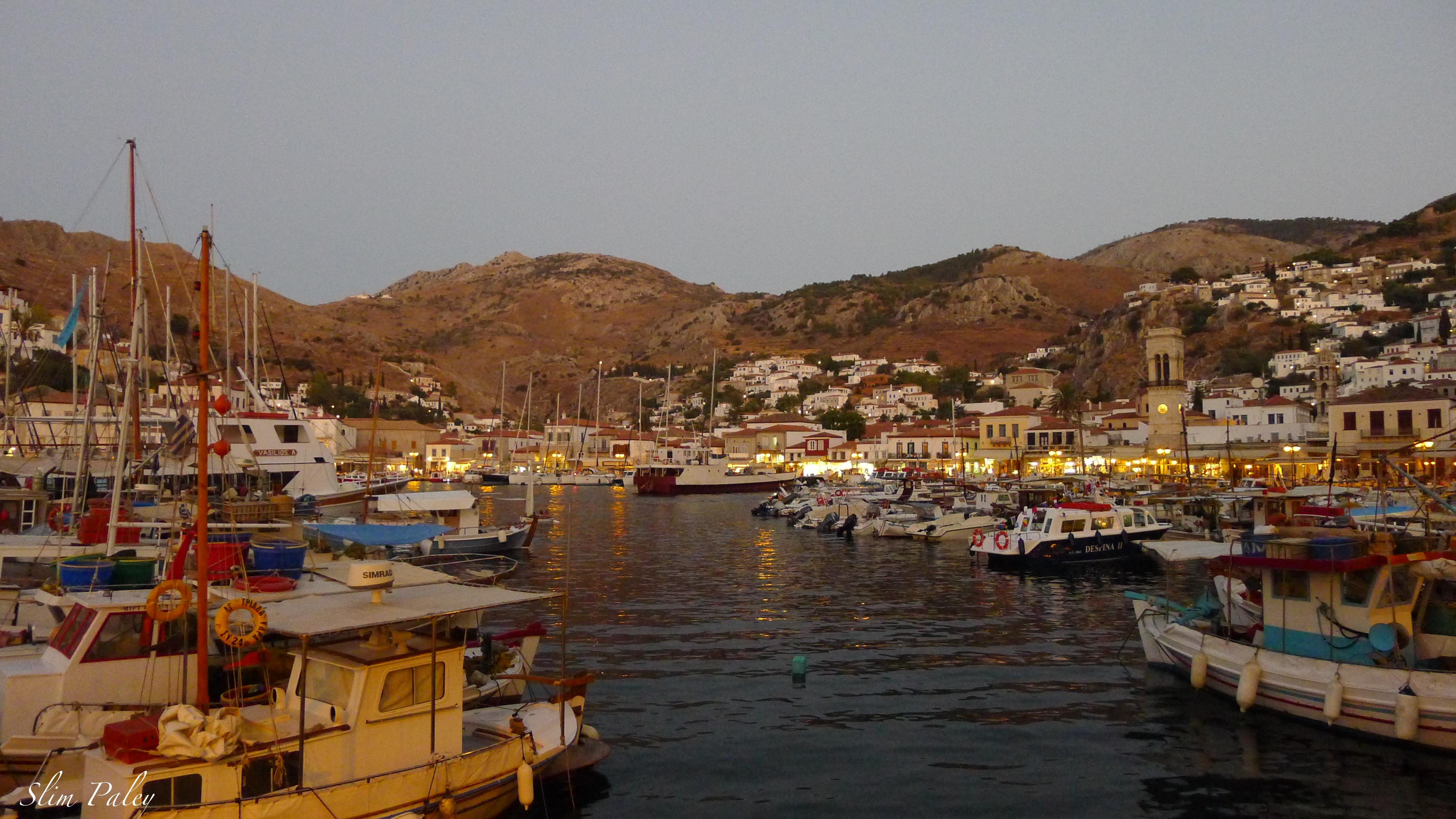 Port of Hydra, Greece