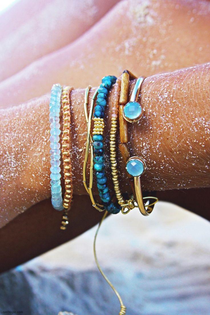 beachy bracelets