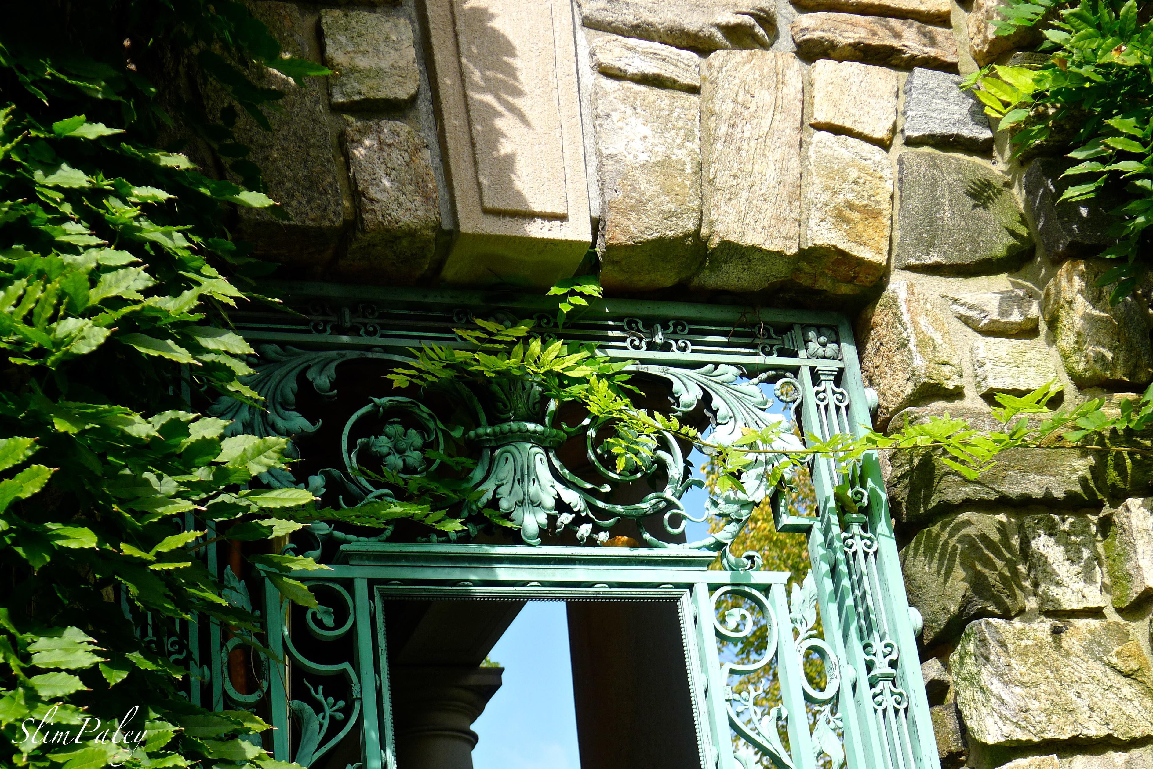 window detail, Kykuit, slimpaley.com