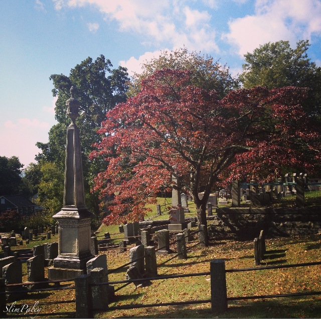 The Dutch cemetery, Sleepy Hollow