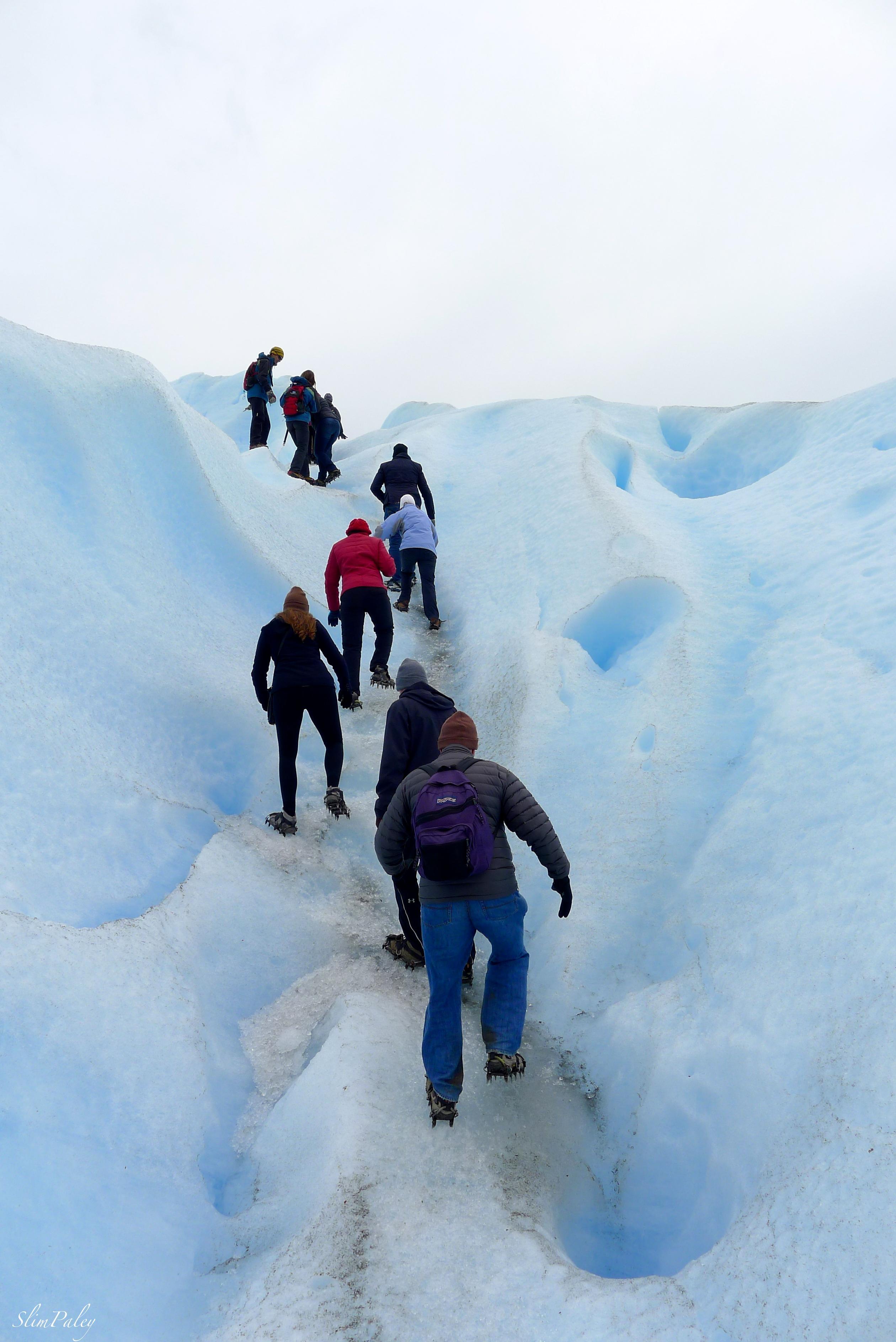 cramponing glacier slimpaley.com