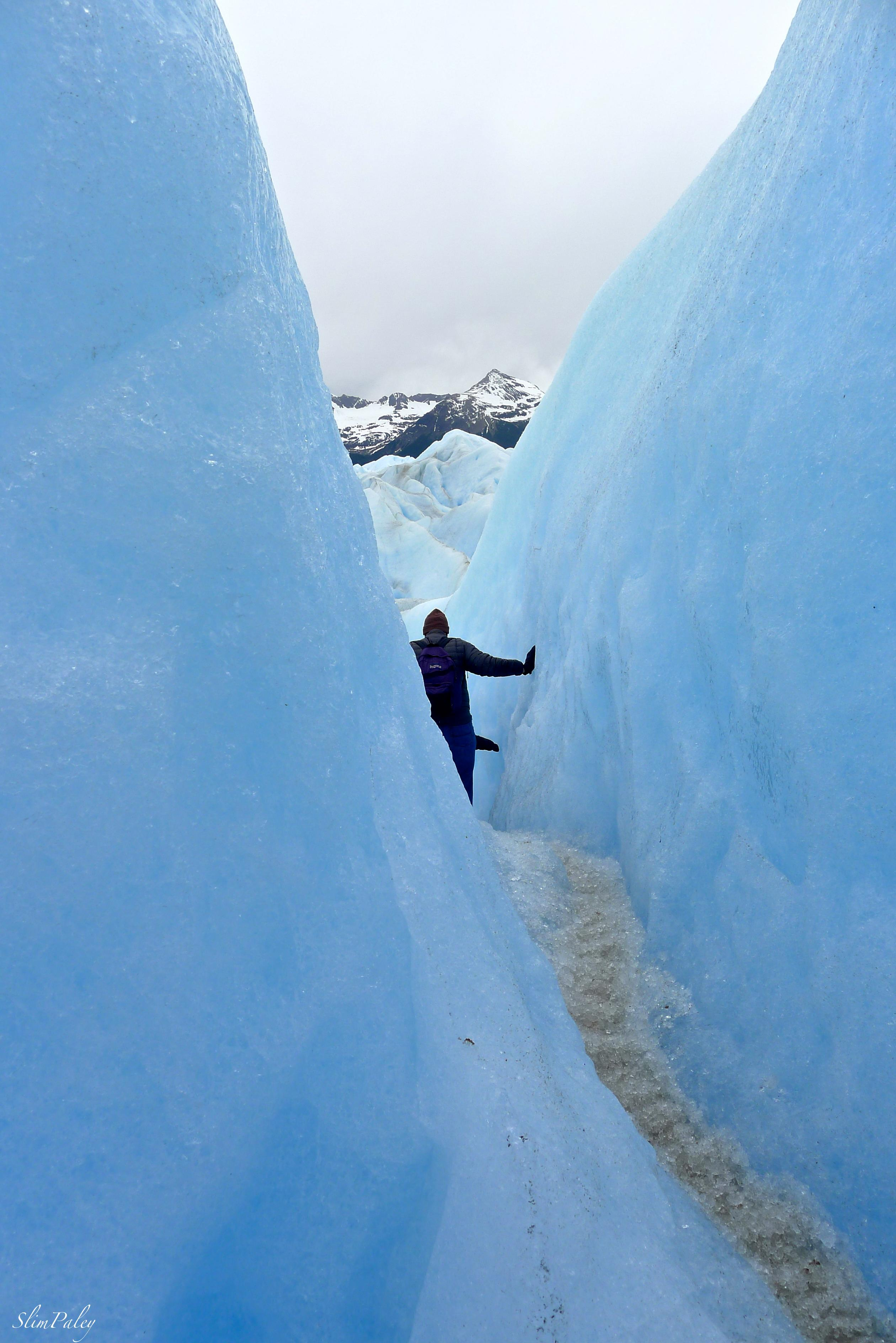 glacier crevasse, slimpaley.com