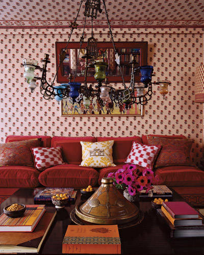 Lisa Fine's Paris apt. Elle Decor