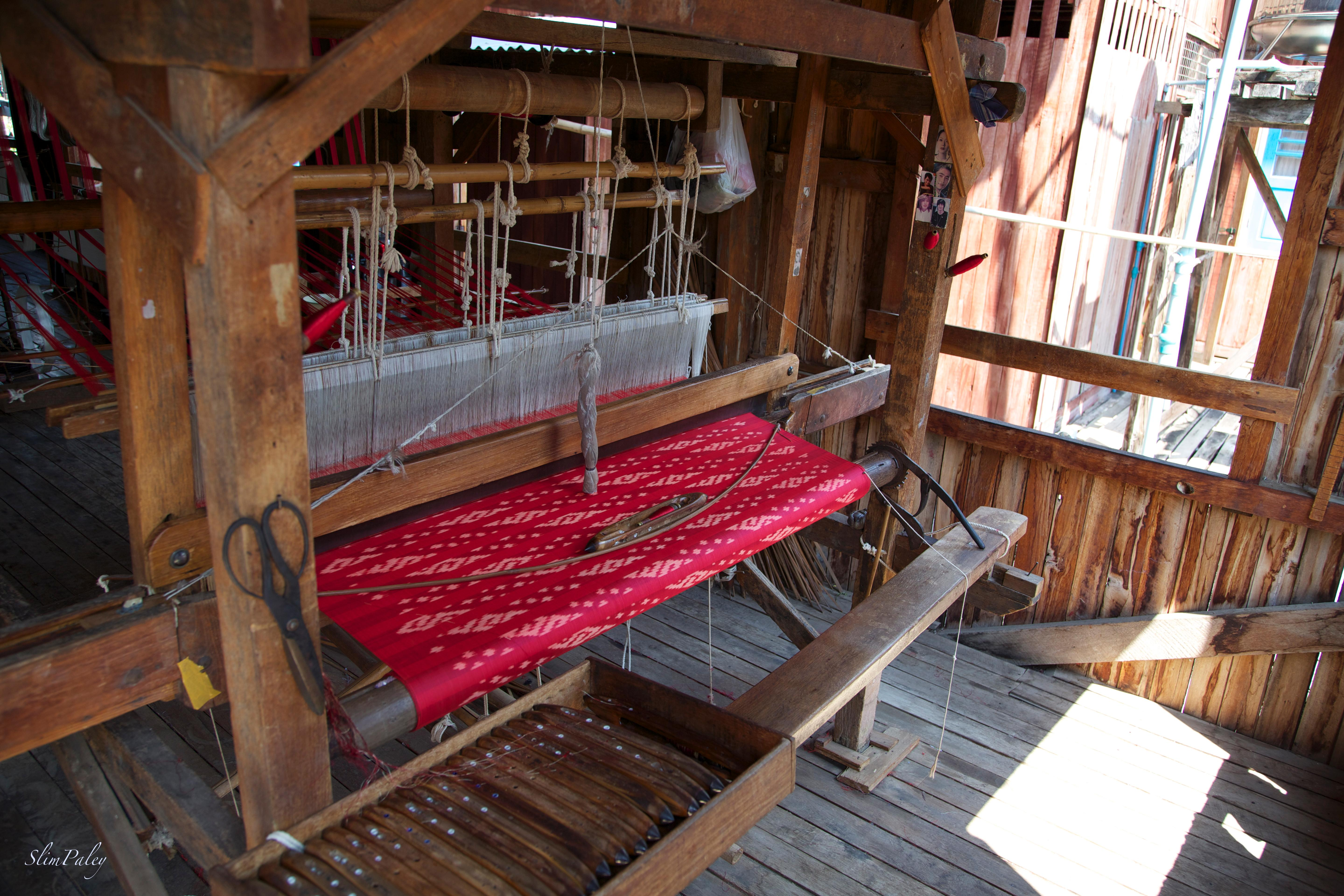 silk weaving Burma slimpaley.com