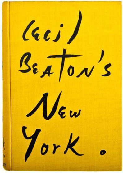 Cecil Beaton's New York book