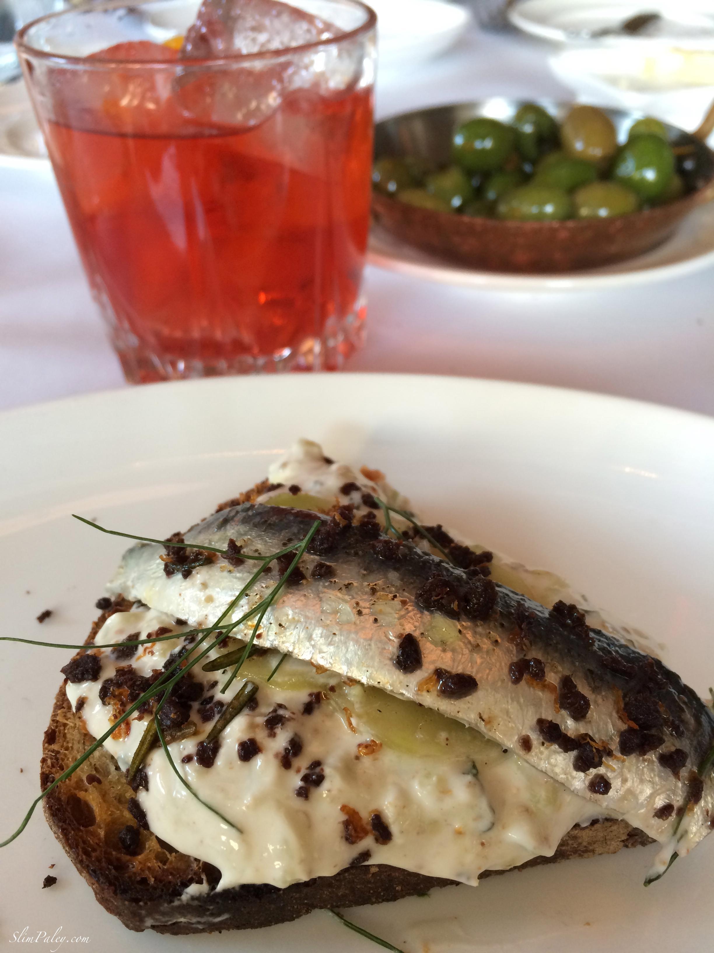 sardines Lafayette restaurant NYC slimpaley
