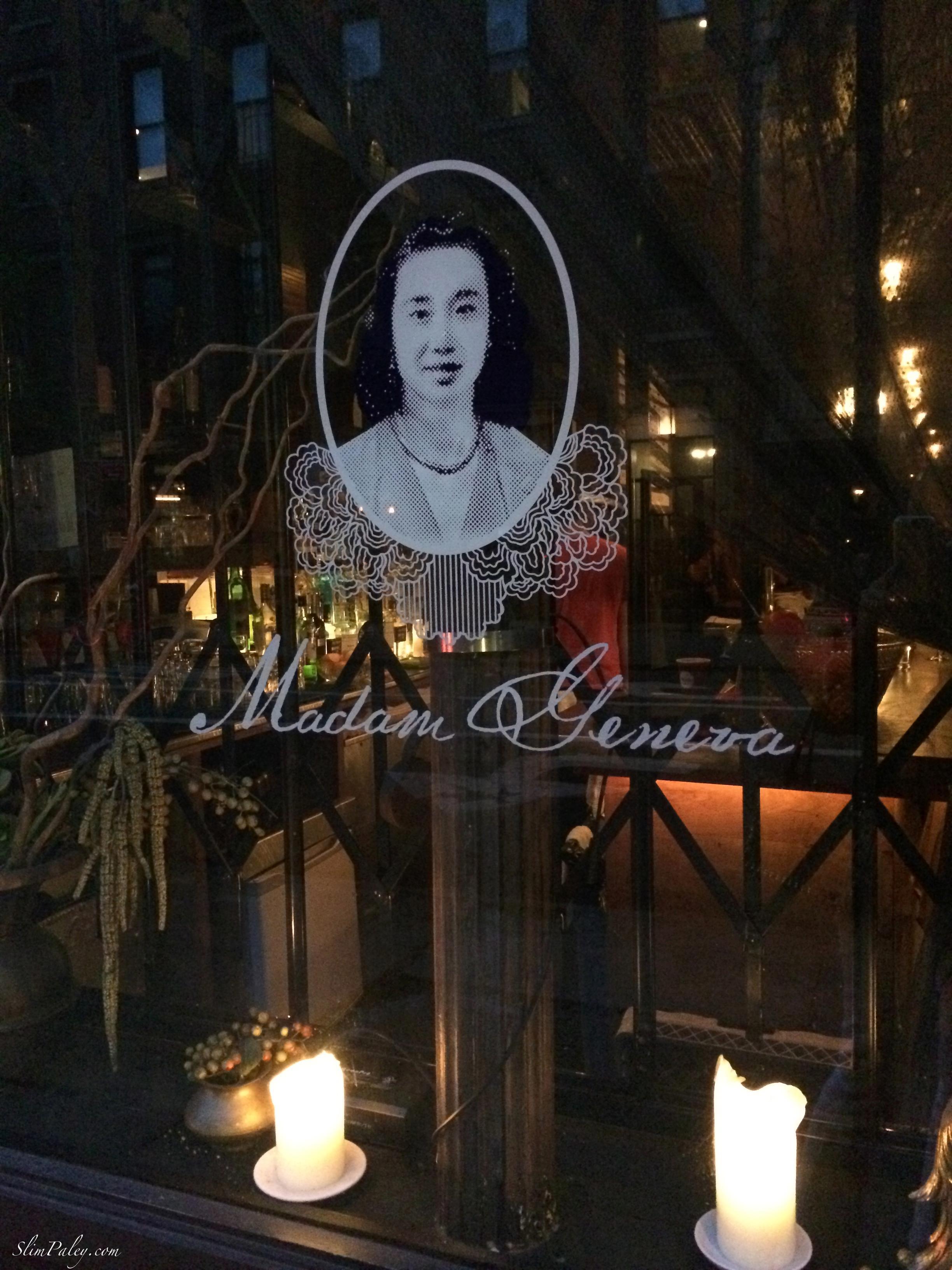 Madam Geneva's NY slimpaley