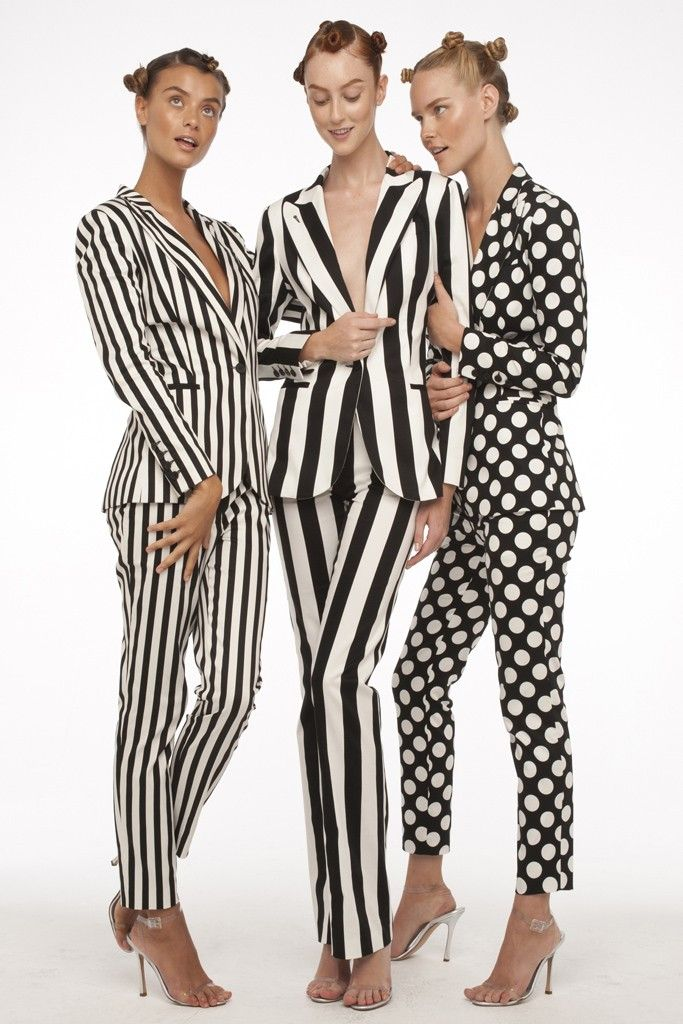 Girls in Stripes