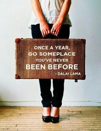 Dalai Lama quote on travel