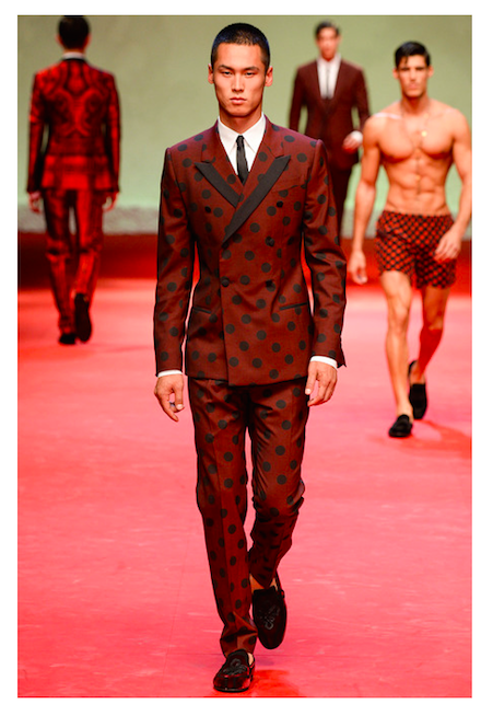dolce & gabbana mens summer 2015