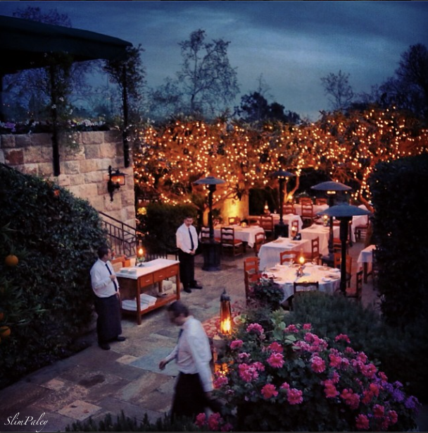 San Ysidro ranch, restaurant, Montecito  slimpaley