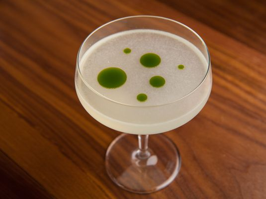 polka dot cocktail