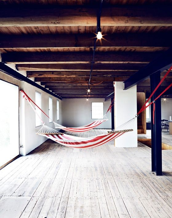 red-striped-indoor-hammock-remodelista
