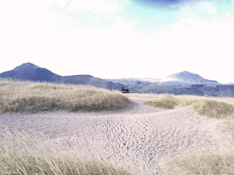 IMG_5499 Budir white sand beach  Iceland