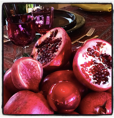 Christmas Pomegranates 2014-12-25 at 0.33.59