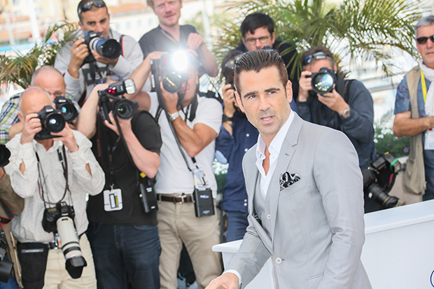 "CANNES, FRANCE - MAY 15:  Colin Farrell attends the ""The Lobster"" photocall during the 68th annual Cannes Film Festival on May 15, 2015 in Cannes, France.  (Photo by Tony Barson/FilmMagic)"