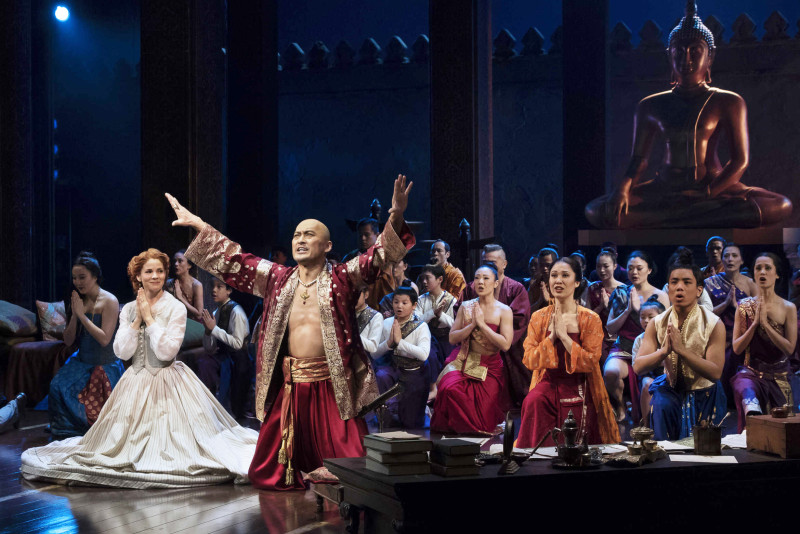 THE KING AND I - 2015 PRESS ART - Kelli O'Hara, Ken Watanabe and company -  Photo: Paul Kolnik