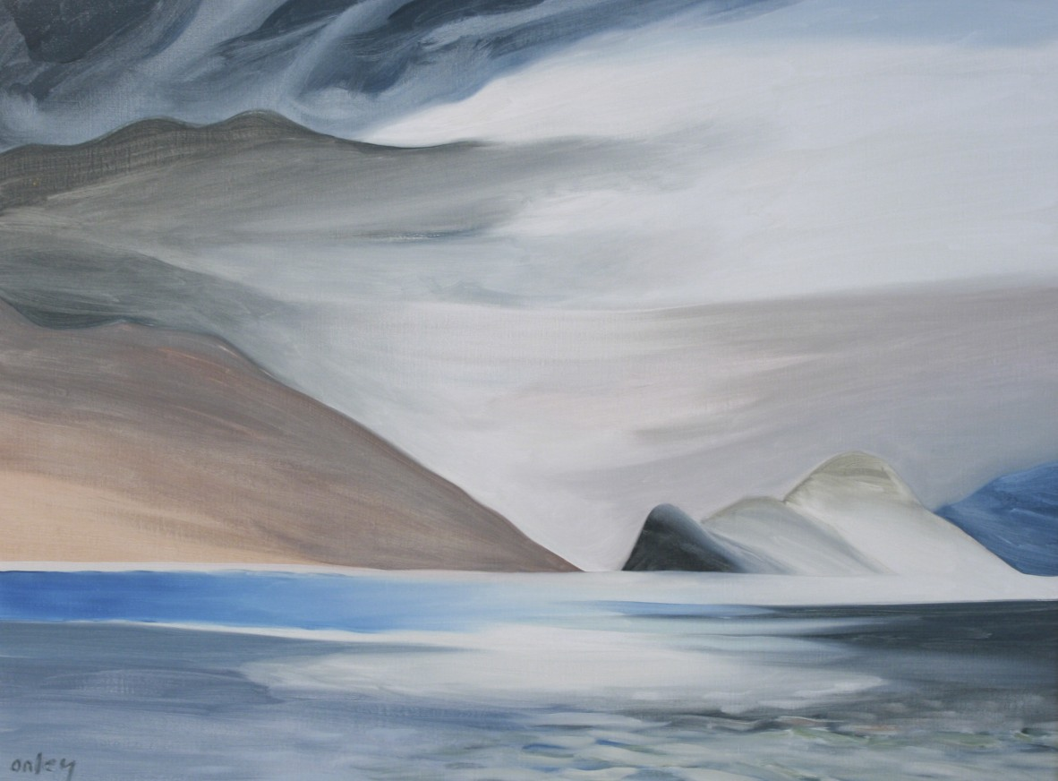 Onley-DesolationSound-30x40-Oil-1988+-1